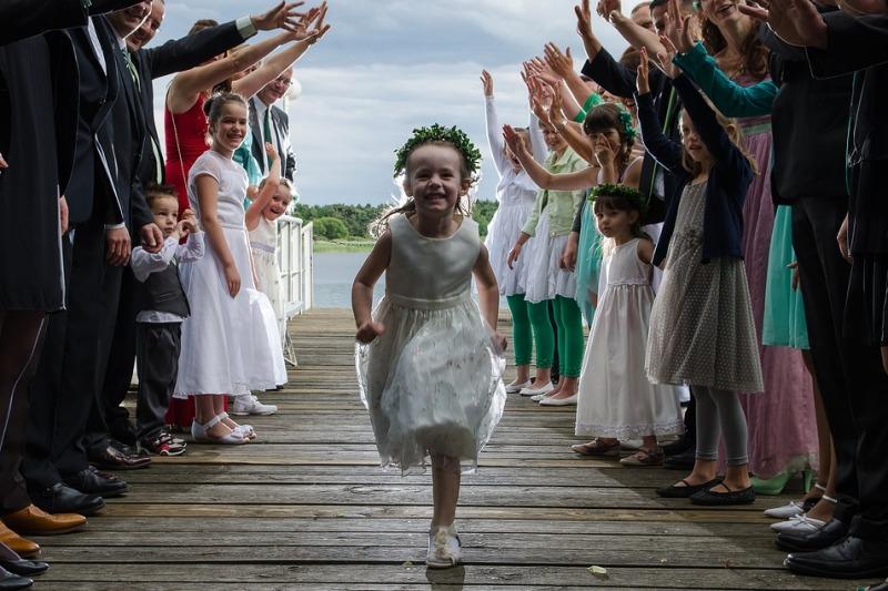 Rivevimento di nozze: come dire agli invitati che i bambini non sono i benvenuti