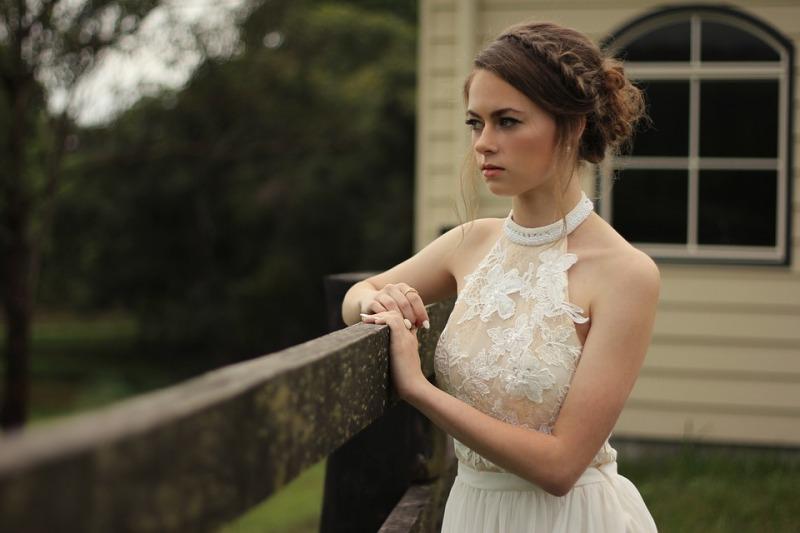 Abiti da sposa effetto tattoo: per le spose più sensuali