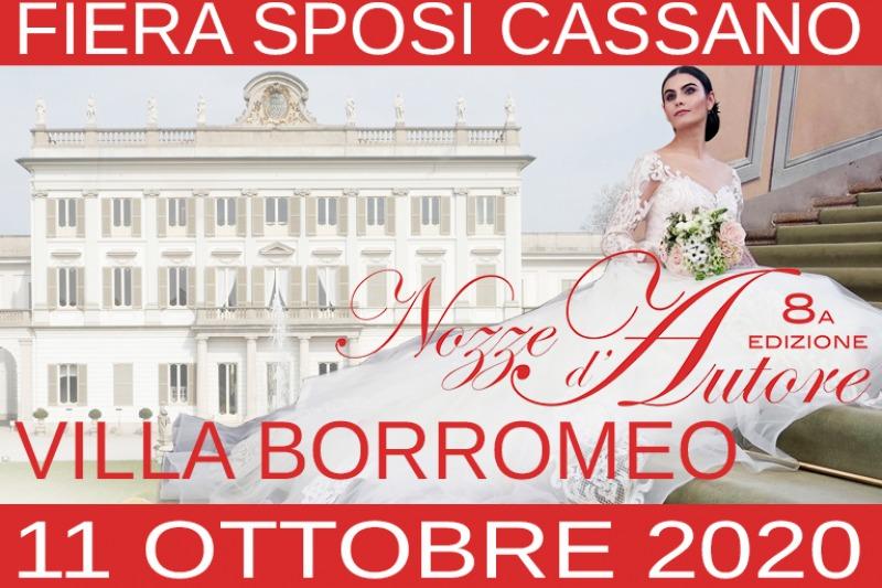 Fiera Nozze d'Autore a Villa Borromeo 2019, 31 marzo Cassano d'Adda (MI)