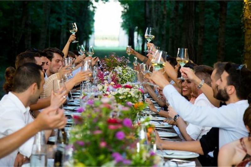 Il party la sera prima delle nozze!