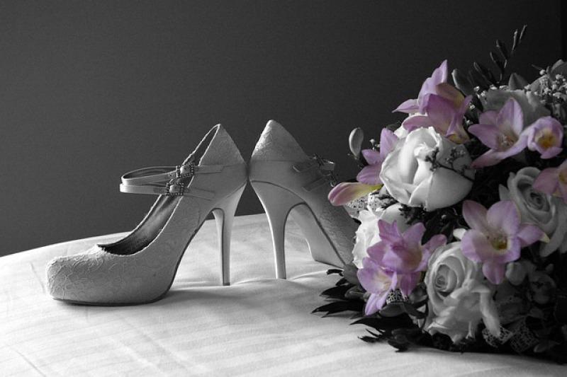 La scelta delle scarpe da sposa