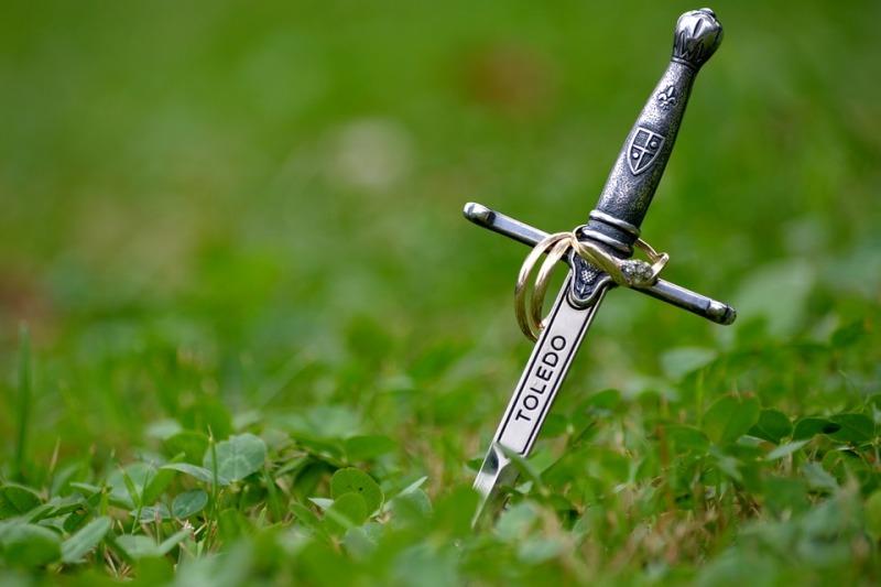 Nozze in stile medievale. Perchè no?