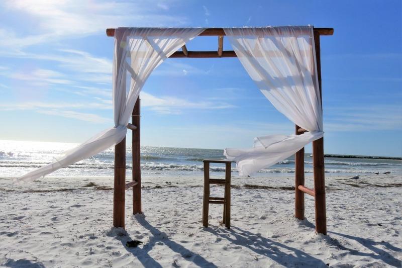 Matrimonio 2021 in spiaggia con coronavirus: come organizzarlo, idee  e consigli