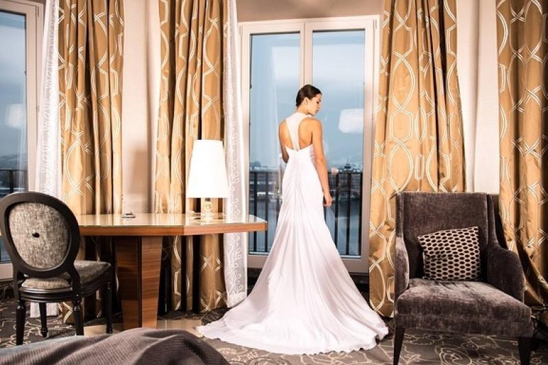 L'abito da sposa su misura