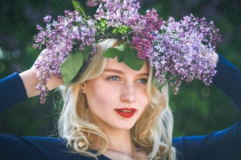 La corona di fiori