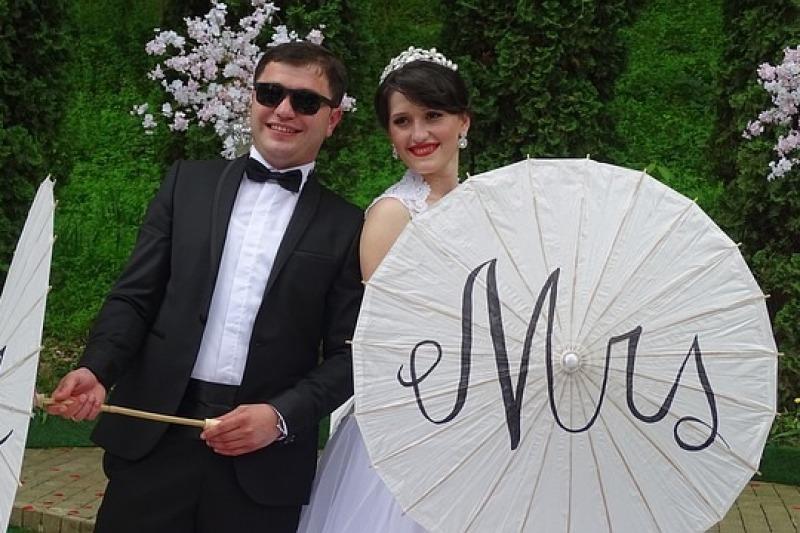 L'ombrellino da sposa
