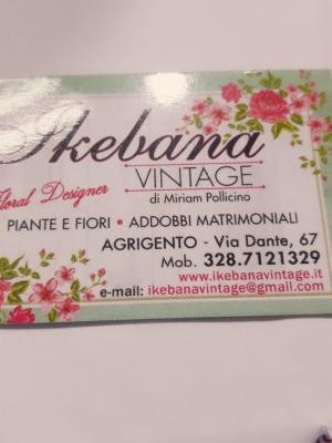 Ikebana vintage via Dante 67 ag