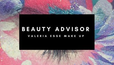 Beauty advisor Valeria Esse make up