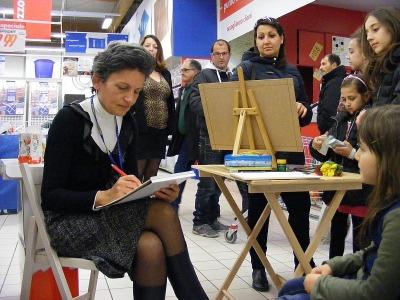 Agnes ritrattista e caricaturista