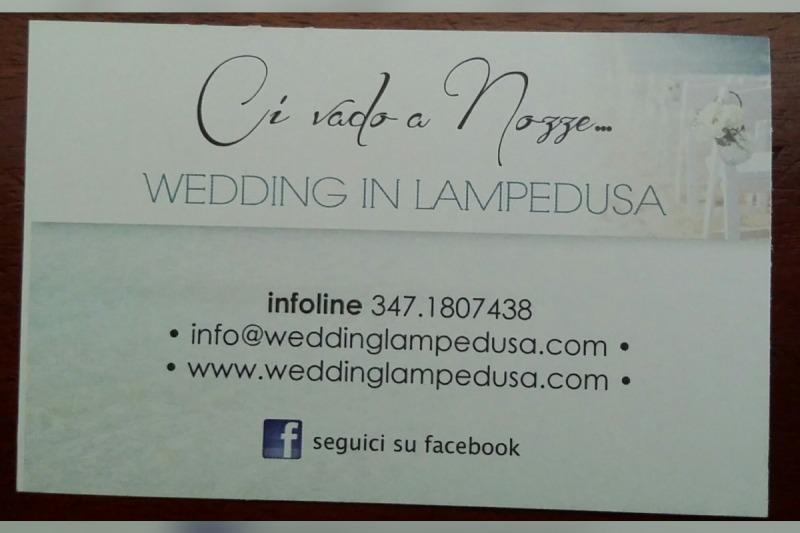 Ci vado a nozze wedding in Lampedusa