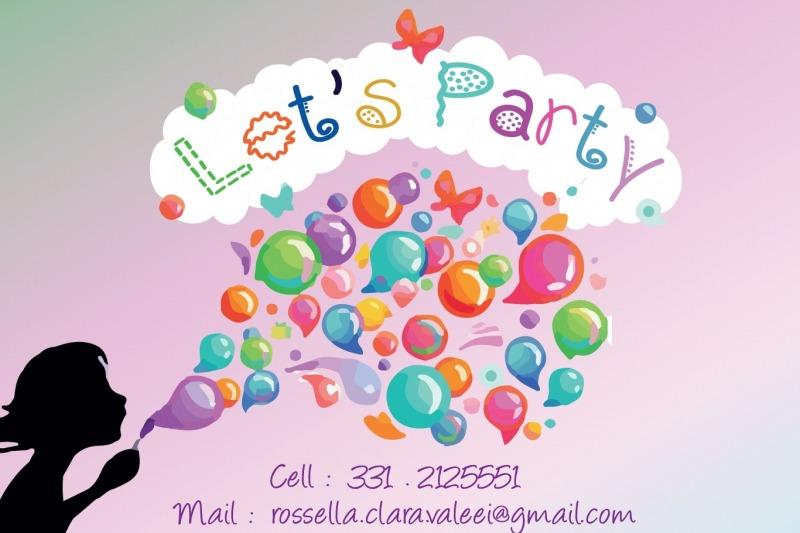 LET'S PARTY!ANIMAZIONE PER BAMBINI