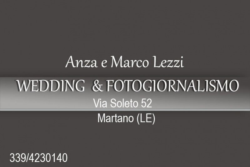 Studio 1 Foto Video di Anza e Marco Lezzi Martano(Le)