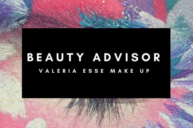 Beauty advisor Valeria Esse make up