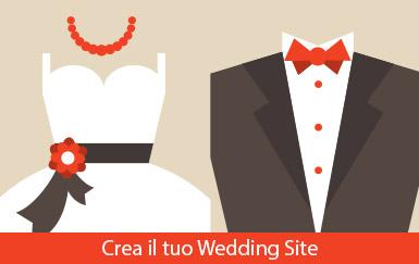 Crea il tuo Wedding Site